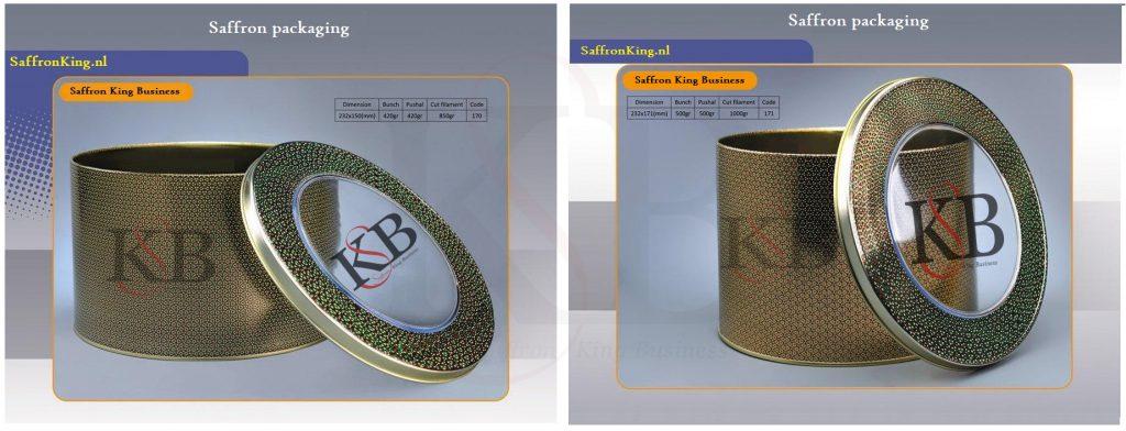 فروش زعفران صادراتی در بستهبندی ویژه