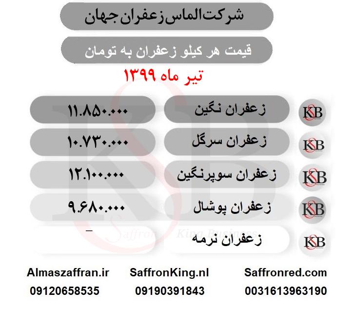 قیمت خرید زعفران کیلویی و اعلاء