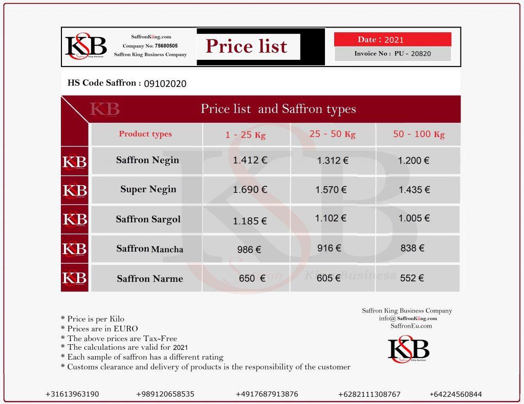قیمت خرید زعفران قاینات در 1400